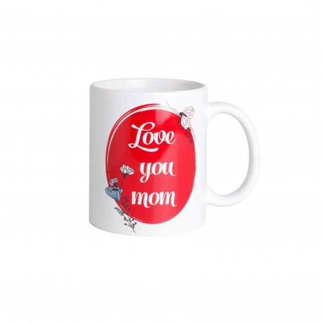 """Чашка """"Love You Mom"""""""