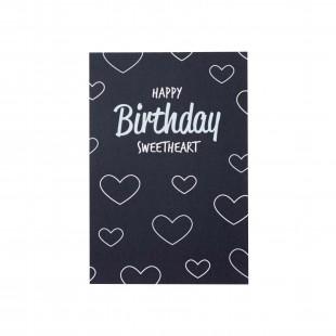 """Открытка """"Happy Birthday Sweeatheart"""""""