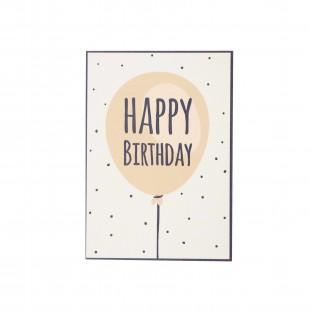 """Открытка """"Happy Birthday"""" в шарике"""