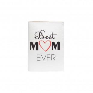 """Обложка на паспорт """"Best mom ever"""""""