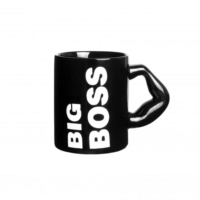 """Чашка """"Big Boss"""" черная"""