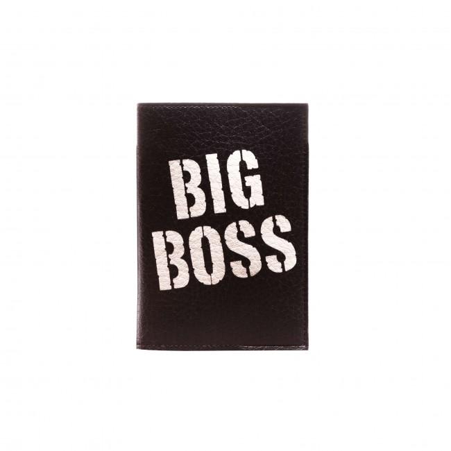 """Обложка на паспорт """"Big Boss"""""""