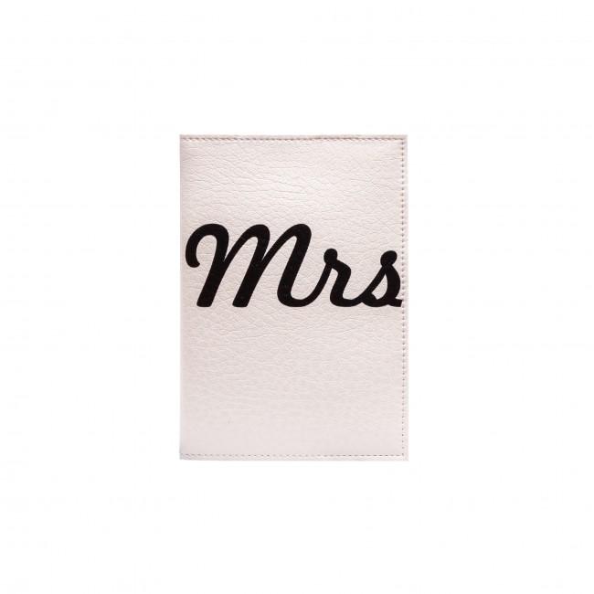 """Обложка на паспорт """"Mrs""""1"""