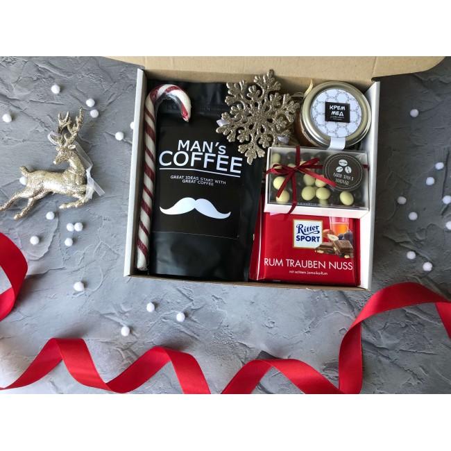 """Подарочный набор """"Кофе и шоколад"""""""