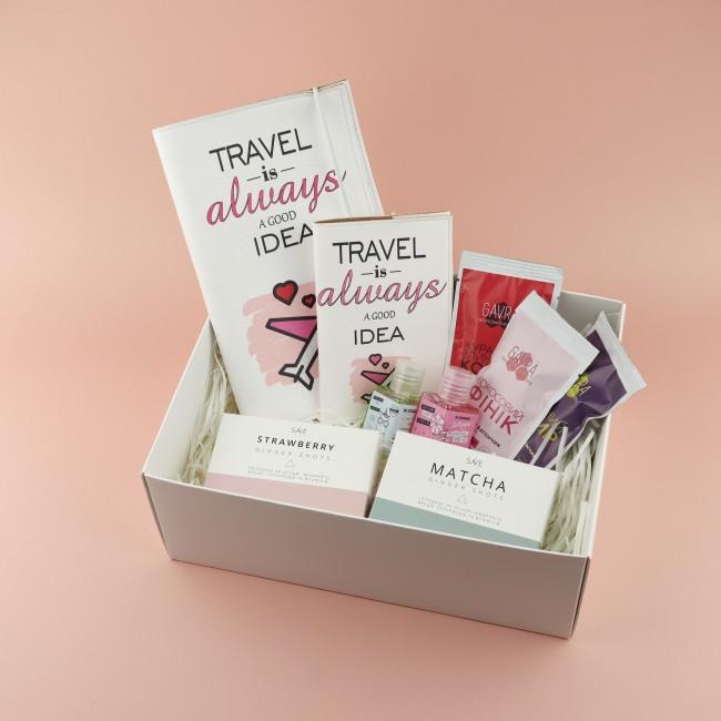 """Подарочный набор """"Для путешественницы"""""""