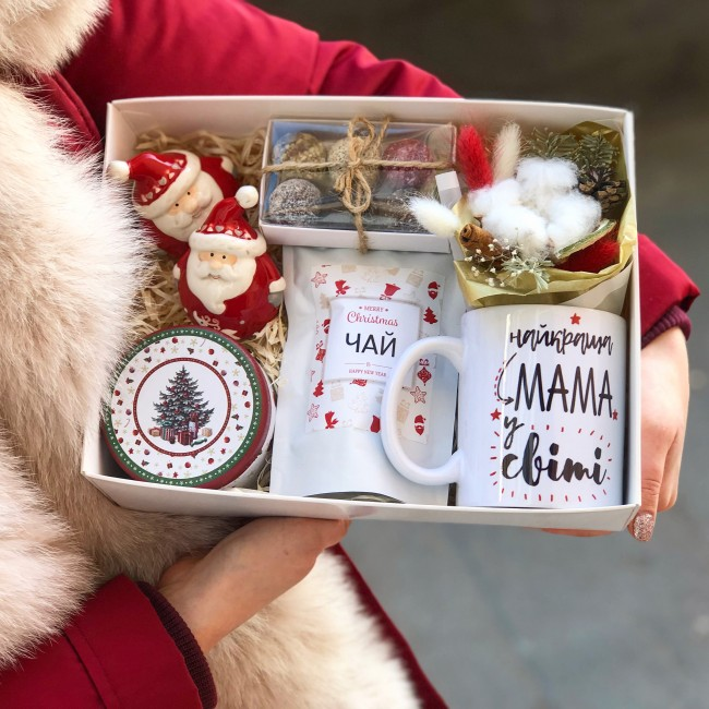 """Подарочный набор """"Маме на Новый год"""""""