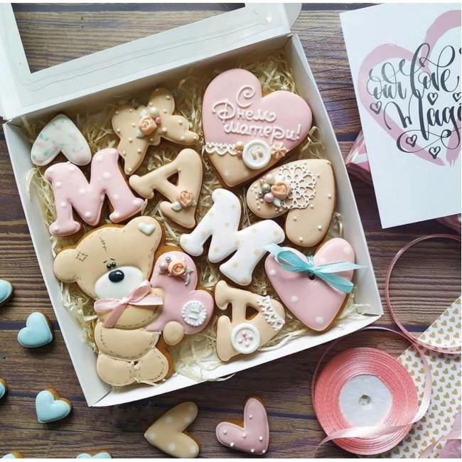 """Подарочный набор печенья """"З Днем матері"""""""