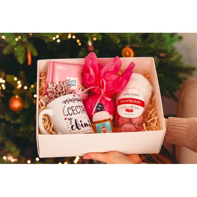 """Подарочный набор  """"Новогодний сюрприз сестре"""""""