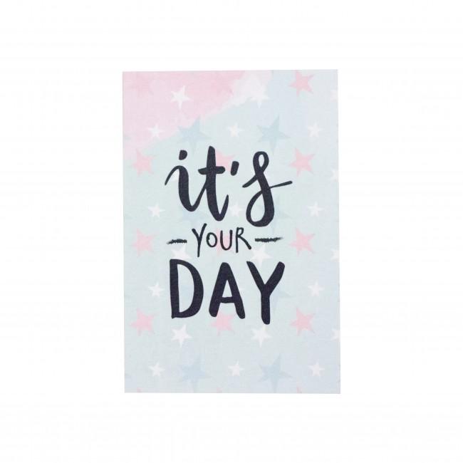 """Открытка """"It's Your day"""""""