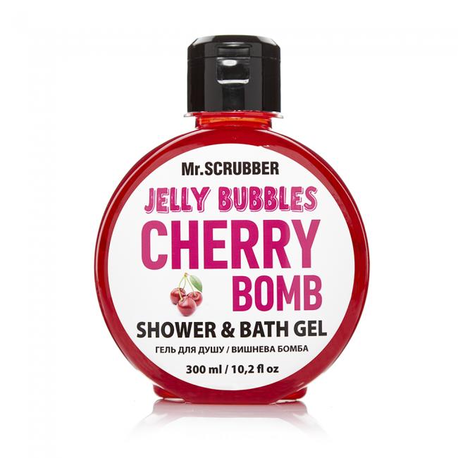 Гель для душу Jelly Bubbles Cherry Bomb Mr.SCRUBBER