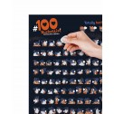 Скретч постер #100ДЕЛ Kamasutra edition