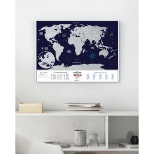 """Скретч Карта Мира """"Holiday World"""""""