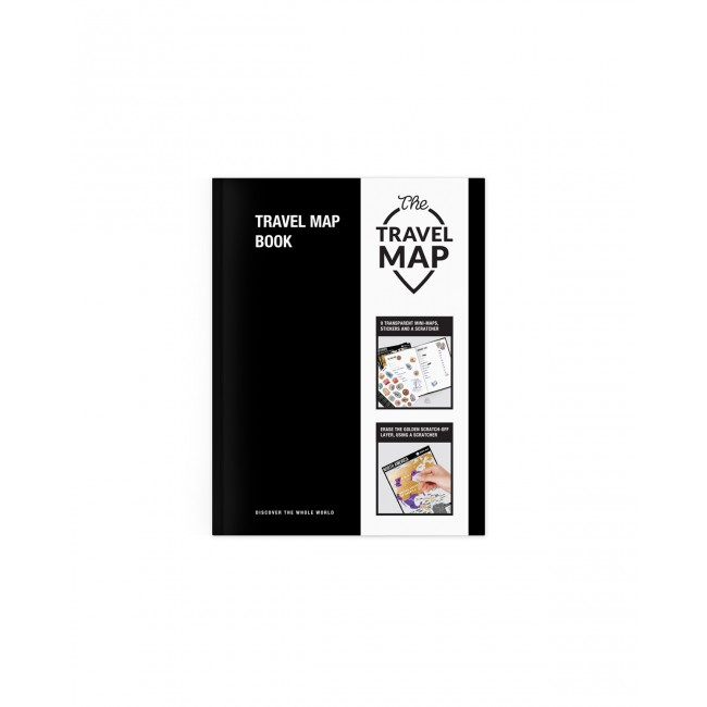 Блокнот Планер путешествий Travel Map® Book
