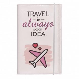 "Тревел-кейс ""Travel is always a good idea"""