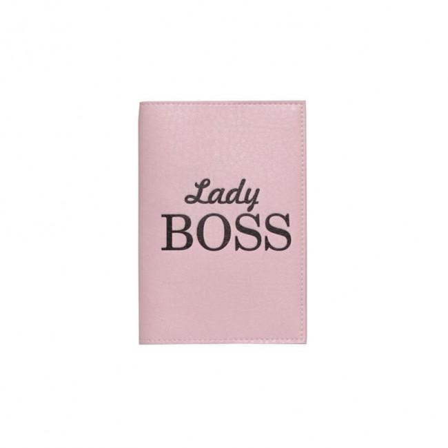 "Обложка на паспорт ""Lady Boss"""