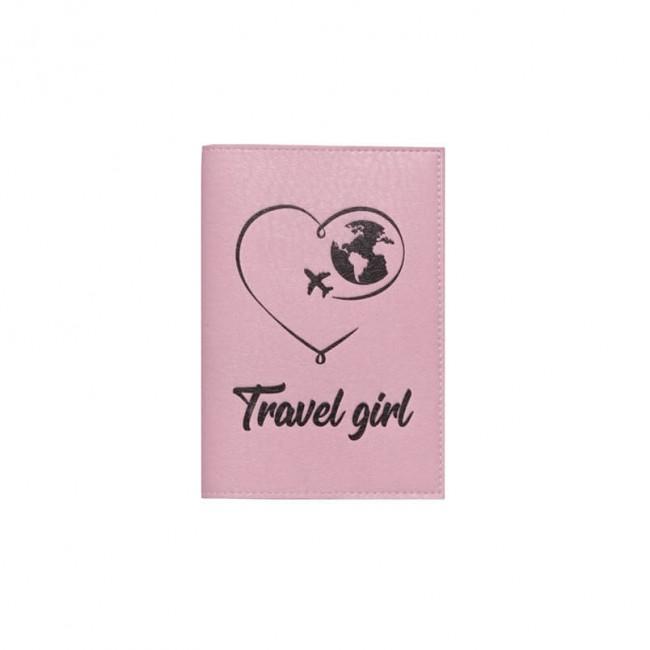 """Обложка на паспорт """"Travel girl"""" 2"""