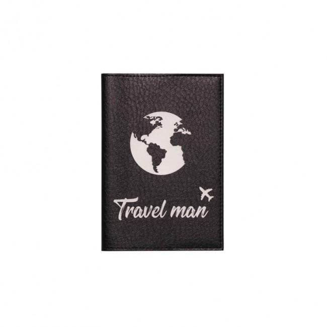 "Обложка на паспорт ""Travel man"" 2"