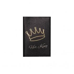 """Обложка на паспорт """"Her king"""""""