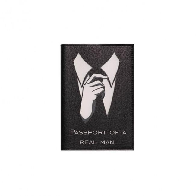 """Обложка на паспорт """"Passport of a real man"""""""