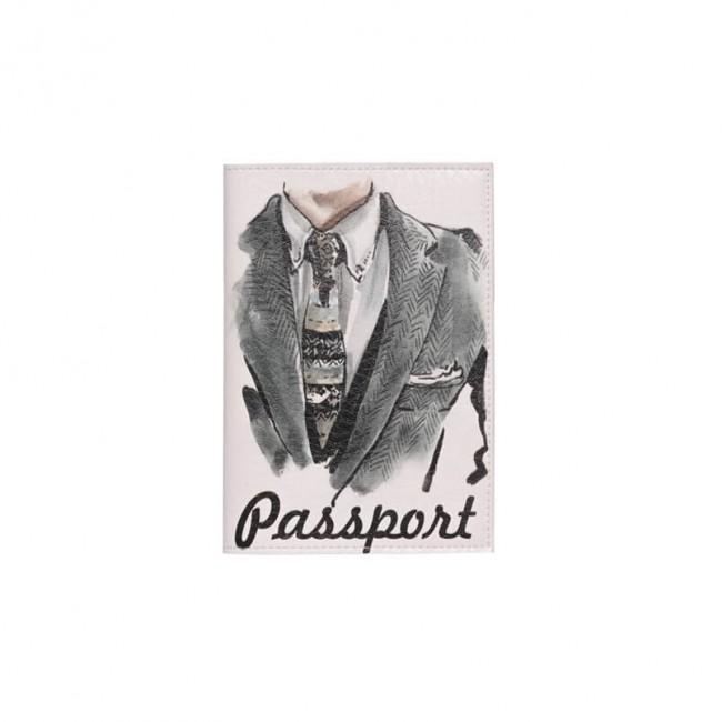 """Обложка на паспорт """"С галстуком"""""""