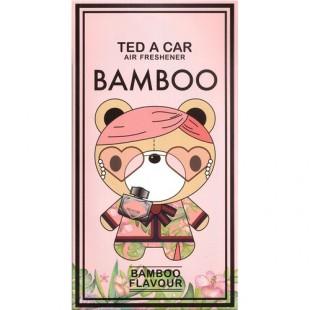 "Ароматизатор в машину ""TED A CAR BAMBOO"""