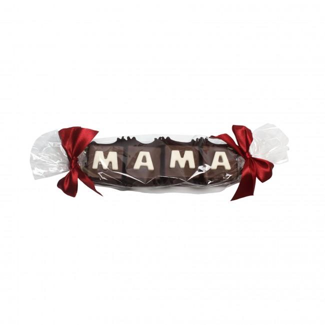 """Шоколадное слово """"МАМА"""""""
