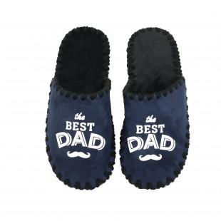 "Домашние тапки ""The best dad"""